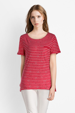 Tee-shirt S OLIVER 14.803.32.8940 Rouge