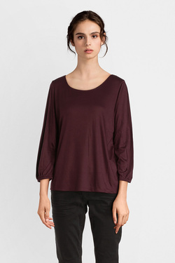 Tee-shirt manches longues S OLIVER 808.39.6971 Rouge bordeaux