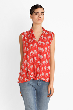 Blouse S OLIVER 904.13.4282 Rouge