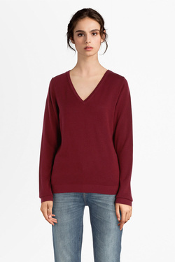 Pull S OLIVER 899.61.5330 Rouge bordeaux