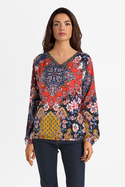 Blouse S OLIVER 909.11.2360 Rouge