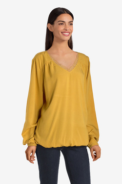 Blouse S OLIVER 909.11.2630 Jaune moutarde