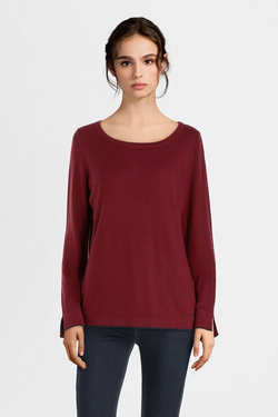 Pull S OLIVER 909.61.6223 Rouge bordeaux