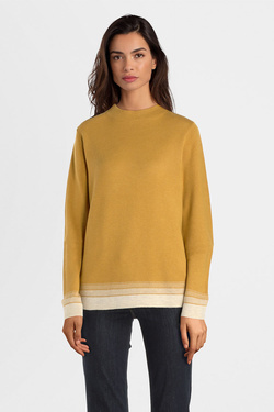 Pull S OLIVER 909.61.6999 Jaune moutarde