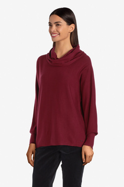 Pull S OLIVER 910.61.6236 Rouge bordeaux