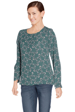 Chemise manches longues S OLIVER 601.11.6212 Vert