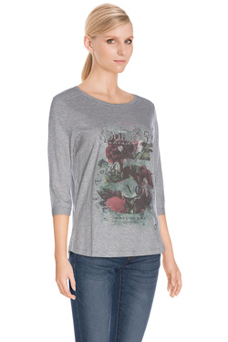 Tee-shirt manches longues S OLIVER 601.39.7483 Gris
