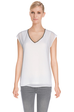 S OLIVER - Tee-shirt603.32.3115Blanc