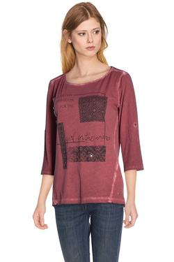 S OLIVER - Tee-shirt manches longues609.39.8126Rouge