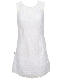 SAVAGE CULTURE Robe blanc 28112A-VE