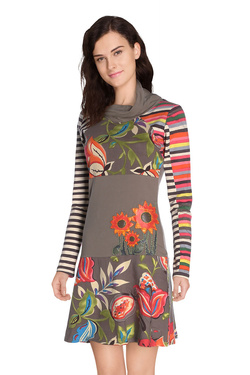 SAVAGE CULTURE - Robe31022-VEMulticolore