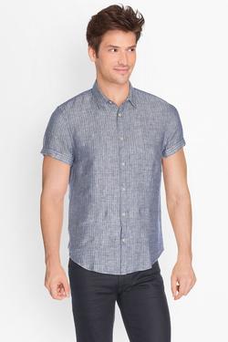 Chemise manches courtes SCOTCH AND SODA 136341 Bleu