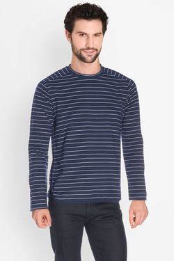 Tee-shirt manches longues SCOTCH AND SODA 136415 Bleu marine