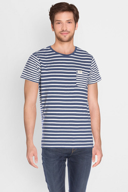 Tee-shirt SCOTCH AND SODA 136495 Bleu marine