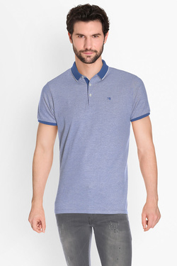 Polo SCOTCH AND SODA 136526 Bleu