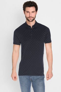 Polo SCOTCH AND SODA 136533 Bleu marine