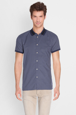 Chemise manches courtes SCOTCH AND SODA 136369 Bleu