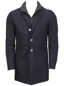 SCOTCH AND SODA Manteau bleu marine 15040810008