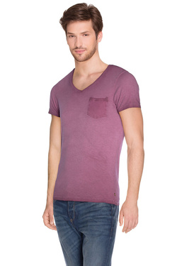 SCOTCH AND SODA - Tee-shirt130872Violet