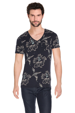 SCOTCH AND SODA - Tee-shirt130872Bleu foncé