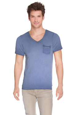 SCOTCH AND SODA - Tee-shirt130872Bleu