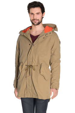 SCOTCH AND SODA - Parka101356Beige