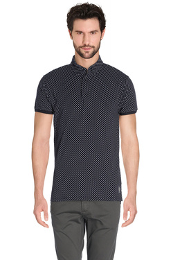 SCOTCH AND SODA - Polo101621Bleu marine