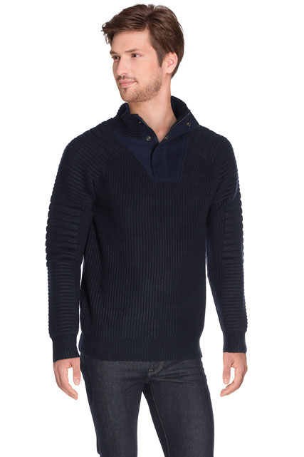 PULL MARINE EN CÔTES PERLÉES SCOTCH AND SODA