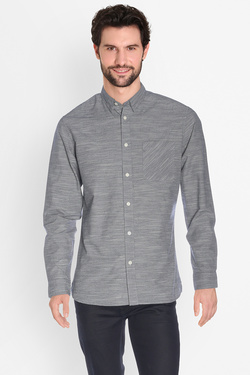 SELECTED - Chemise manches longuesSHHONEHOLMGris