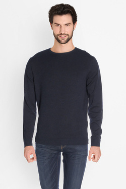 Pull SELECTED 16055707 Bleu marine