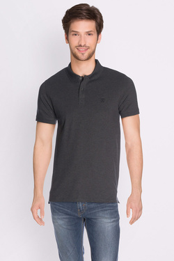 Polo SELECTED 16049517 Gris foncé