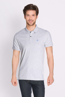 Polo SELECTED 16049517 Gris