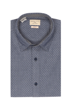 Chemise manches longues SELECTED 16057901 Bleu marine