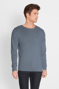 Pull SELECTED 16047649 Bleu marine