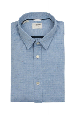 Chemise manches longues SELECTED 16060040 Bleu