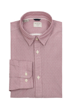 Chemise manches longues SELECTED 16060040 Rouge