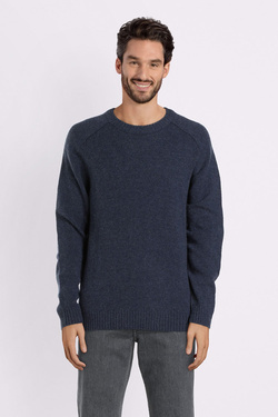 Pull SELECTED 16063696 Bleu marine