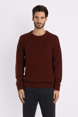 Pull SELECTED 16063696 Rouge bordeaux