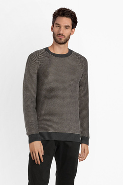 Pull SELECTED 16063728 Marron