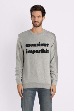 Sweat-shirt SELECTED 16065779 Gris