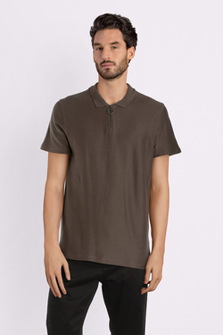 Polo SELECTED 16063646 Taupe