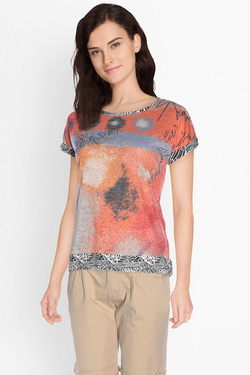 Tee-shirt SMASH S1714425 Orange