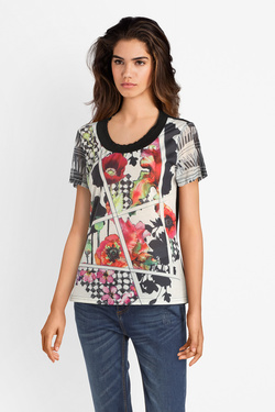 Tee-shirt SMASH S1914420 EVELYN Noir