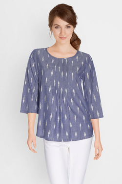 Blouse SOMEWHERE 0200036846409 Bleu