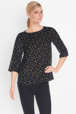 Blouse SOMEWHERE 0200036846566 Noir