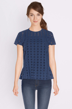 Blouse SOMEWHERE 02000036896349 Bleu marine