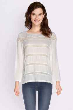 Blouse SOMEWHERE 0200036926349 Blanc cassé