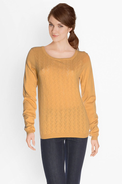 Pull SOMEWHERE IDO Jaune moutarde