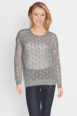 Pull SOMEWHERE IEURA Gris clair