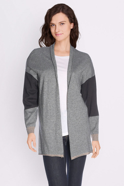 Gilet SOMEWHERE IHARA Gris clair